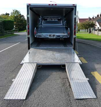 Extra long ramps so low cars can be loaded with ease