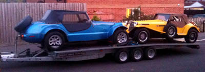 Kit car transport by Auto-Haul